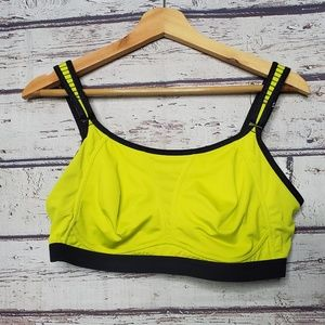 Soma Sports Bra Size 36DD Neon Womens Athletic